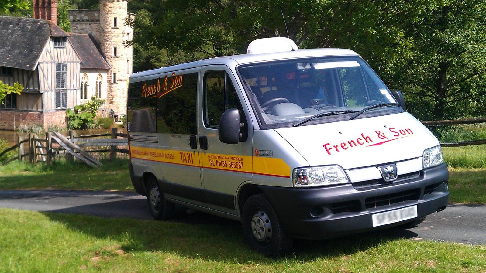 Taxi Minibus Image