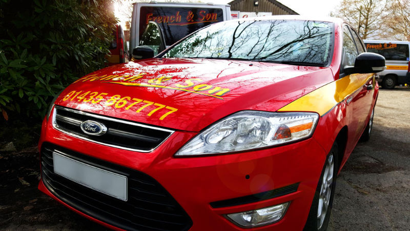 french and son taxi heathfield